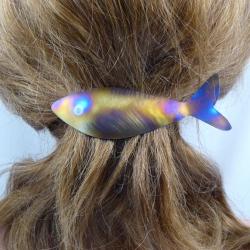 Titan Haarspange Fisch