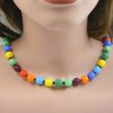 Multicolori-Kugelkette Handarbeit in Berlin produziert