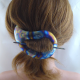Kleine Titan Stab Haarspange Paisley