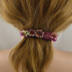 Handgewirkte Haarspange groß