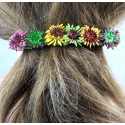 Handgestrickte Haarspange groß in Berlin produziert