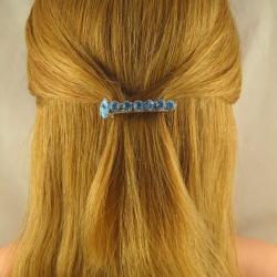 Sehr kleine Strass Haarspange Handarbeit in Berlin produziert