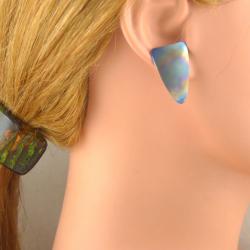 Handgemachte Titan Ohr Stecker