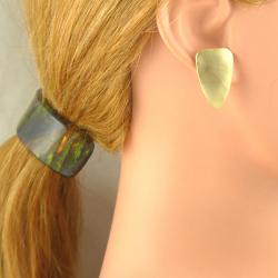 Handgemachte Messing Ohr Stecker