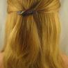 Sehr kleine Acetat Haarspange Handarbeit in Berlin produziert